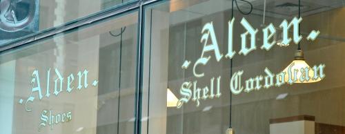 Alden Shoe Shop